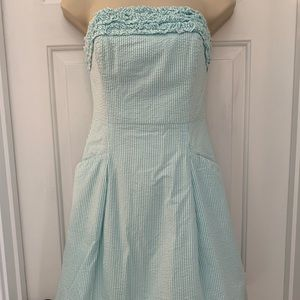 Lily Pulitzer strapless dress size 0